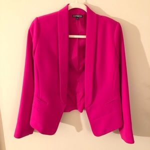 Express Hot Pink Blazer